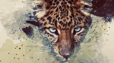 Création tissu Panther